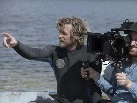 Breath is Baker's directorial debut. David Dare Parker