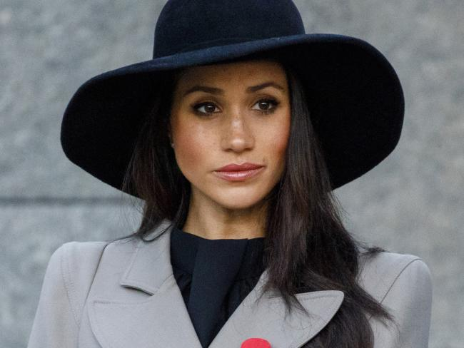 Meghan Markle has been present at a number of official events in the lead up to her May wedding. Picture: Tolga Akmen/Pool Photo via AP.