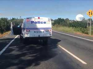 Hervey Bay Maryborough Rd crash