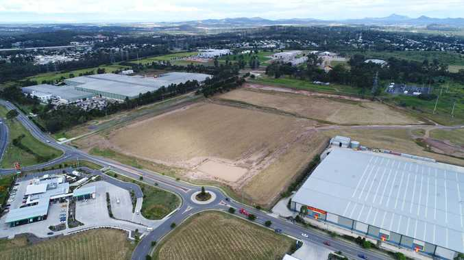 DRONE FOOTAGE: Costco site deserted months out from opening