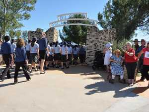 Marches from Redeemer Lutheran College pass through