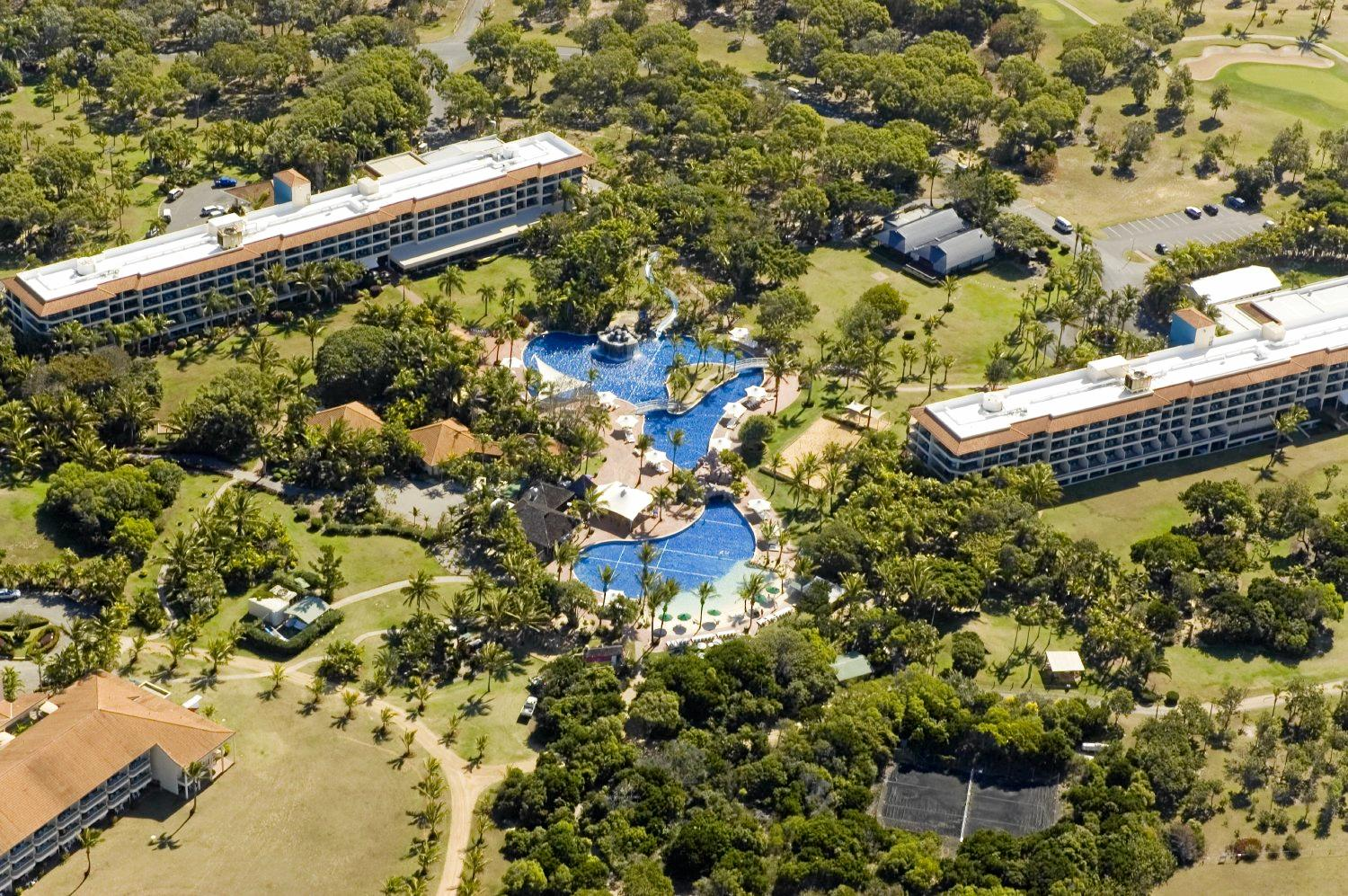 HOLDING ON: The Capricorn Resort is often still referred to by locals as Iwasaki's.