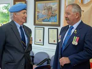 Paths cross years after Bell men served overseas
