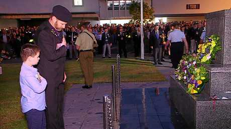Scenes from the 2018 Coffs Harbour Dawn Service.