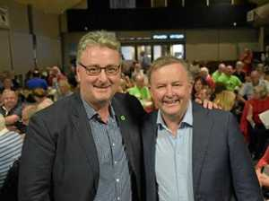 Did Albanese just fire first shot in Cowper campaign?