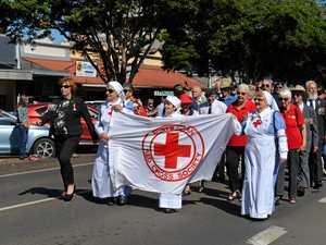 Women lead march in Childers