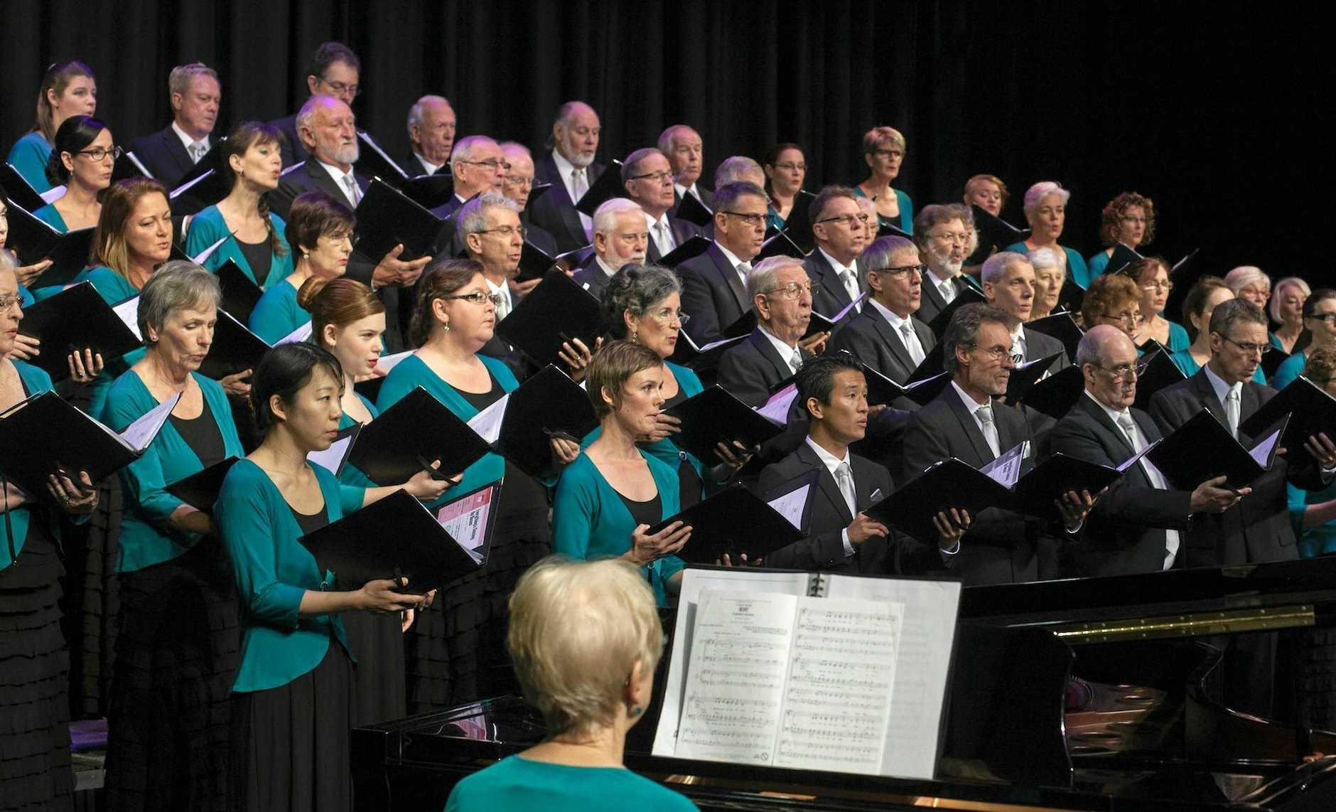 The Sunshine Coast Oriana Choir.