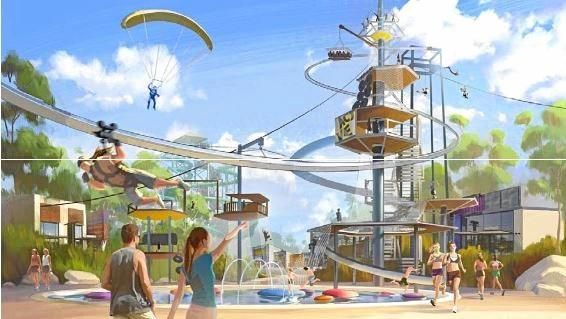 Legal bombs hinder $450m waterpark development
