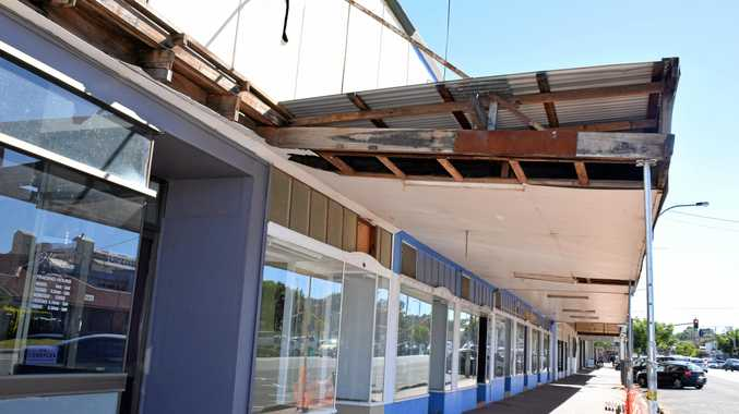 Kingaroy St 'eyesore' set for demolition