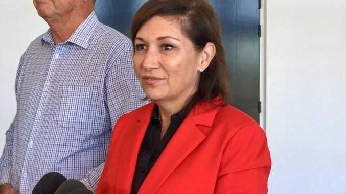 RUBBISH PROBLEM: Environment Minister Leeanne Enoch was in Bundaberg for a forum discussing the waste solution for Australia.