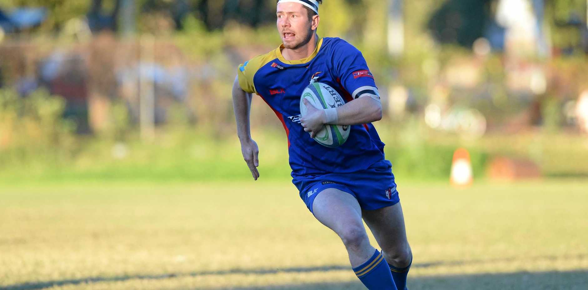 GUN: Goats' full-back David West believes his team can push Drovers all the way in tomorrow's Rugby Capricornia Limited round seven match.