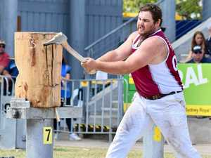 Burnett lumberjack named national champ