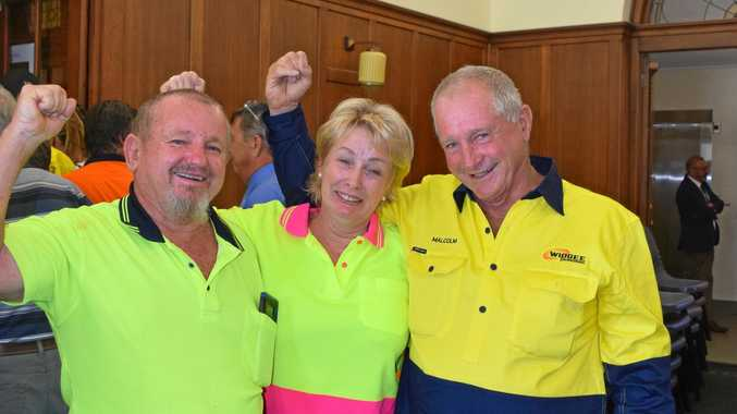 WIDGEE WINS: Emotions fly as 50 jobs saved
