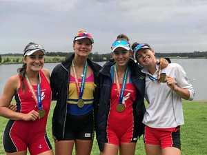 Roma rower makes Oz team