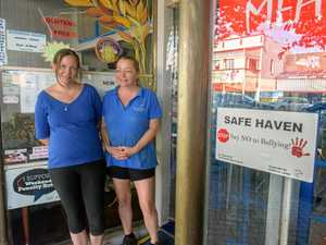 SWEET AND SAFE: Business stands up against bullying