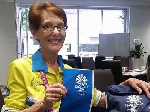 Commonwealth Games volunteer Maeber Gardiner.