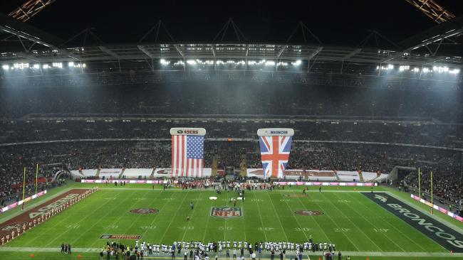 England's Football Association may offload Wembley Stadium for $2 billion. Picture: AP