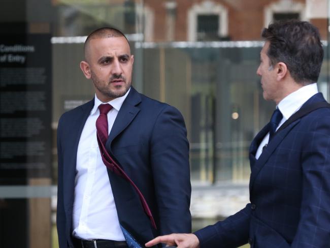 Sydney criminal lawyer Stephen Zahr (left) is representing accused Lone Wolf bikie president Erkan Keskin.
