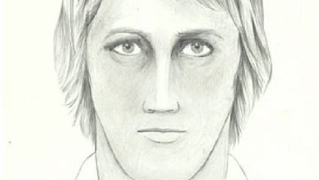A police sketch of the Golden State killer. Picture: Reuters