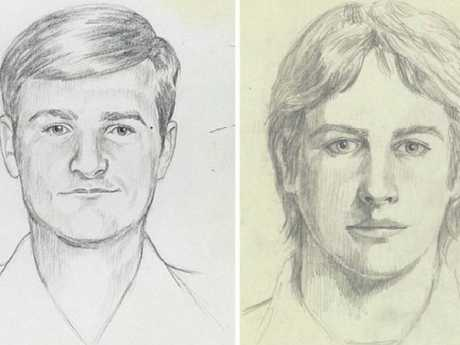A composite sketch of the suspected Golden State killer. Picture: Reuters