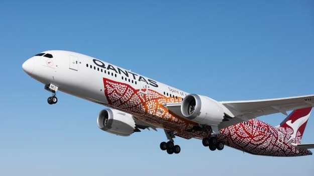 Qantas has come under scrutiny. Picture: Qantas Yam Deaming by Emily Kame Kngwarreye