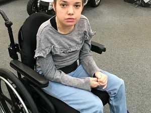 MUM'S APPEAL: Custom wheelchair stolen in car