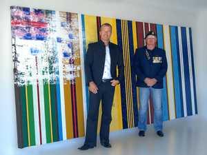 Painting honours heroes