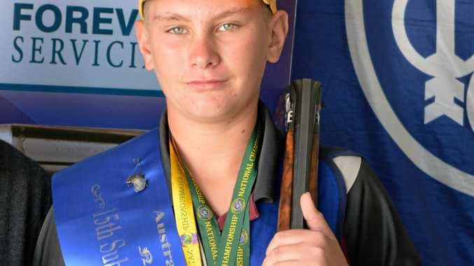 Teen shooter sets his sights on Tokyo Olympics