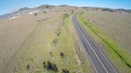 BIG PLANS: The proposed site of a new solar farm at Lower Wonga that will be Australia's largest solar farm. Photos: Courtesy of SolarQ.