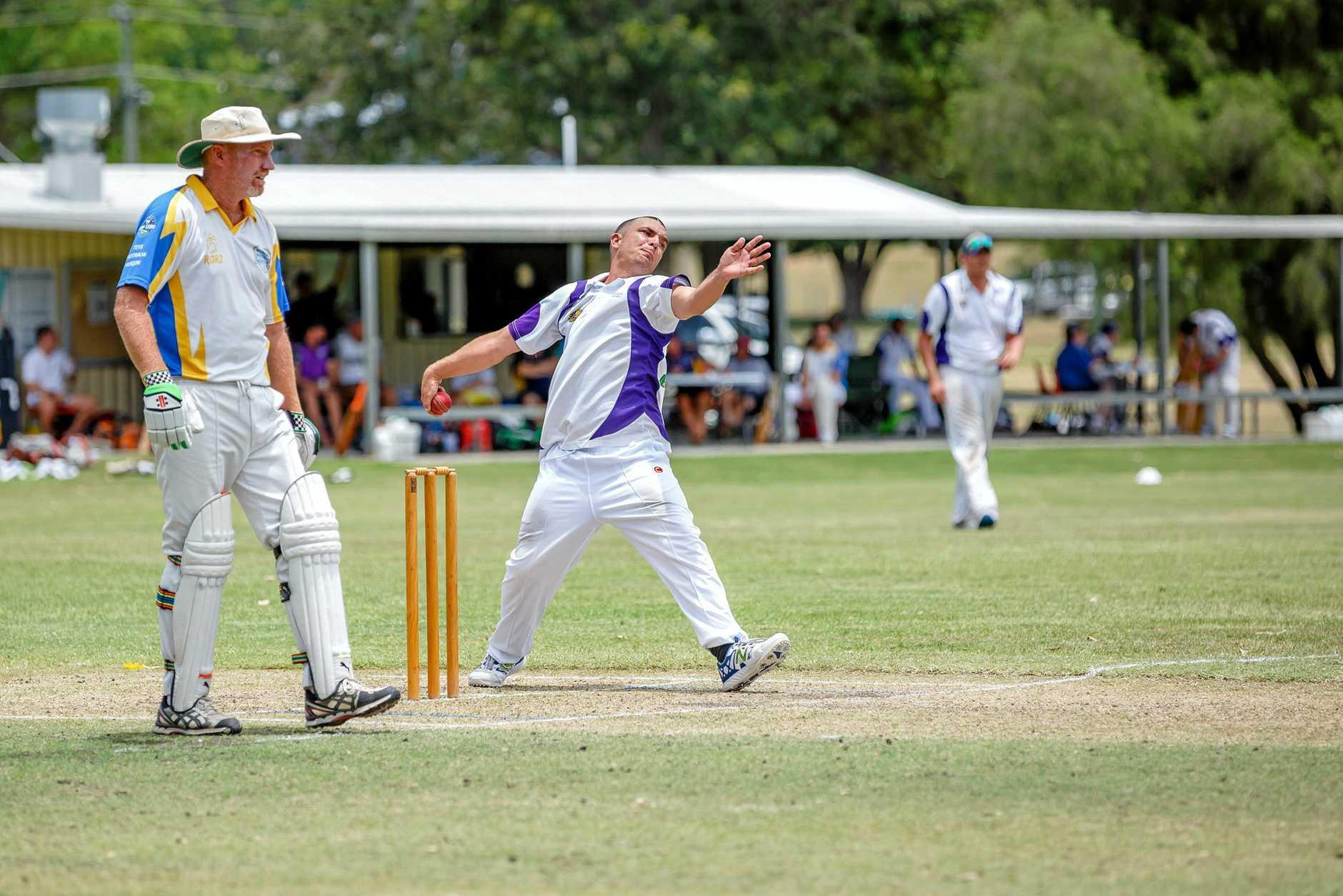 Cricket One Day Final - A Grade Murgon vs Valleys - Nathan McGill Valleys