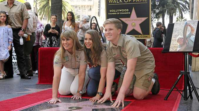 Steve Irwin's legacy immortalised with Hollwood Star
