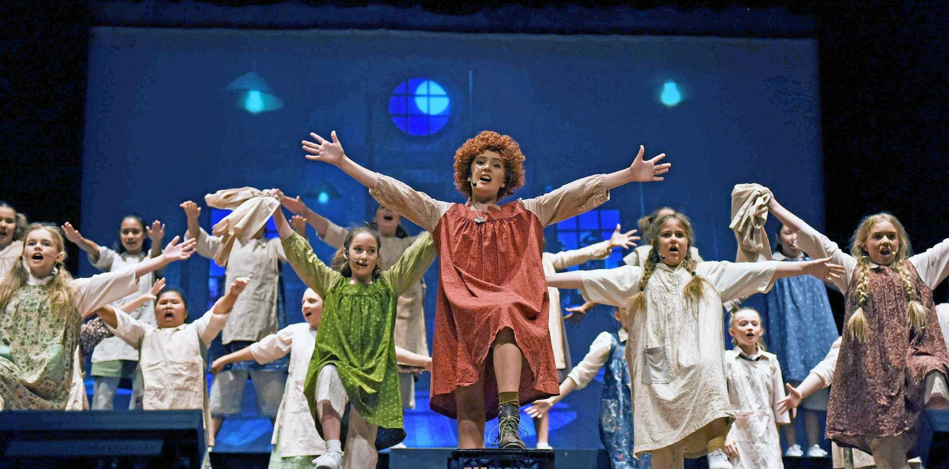 St John's production of Annie, 2018.
