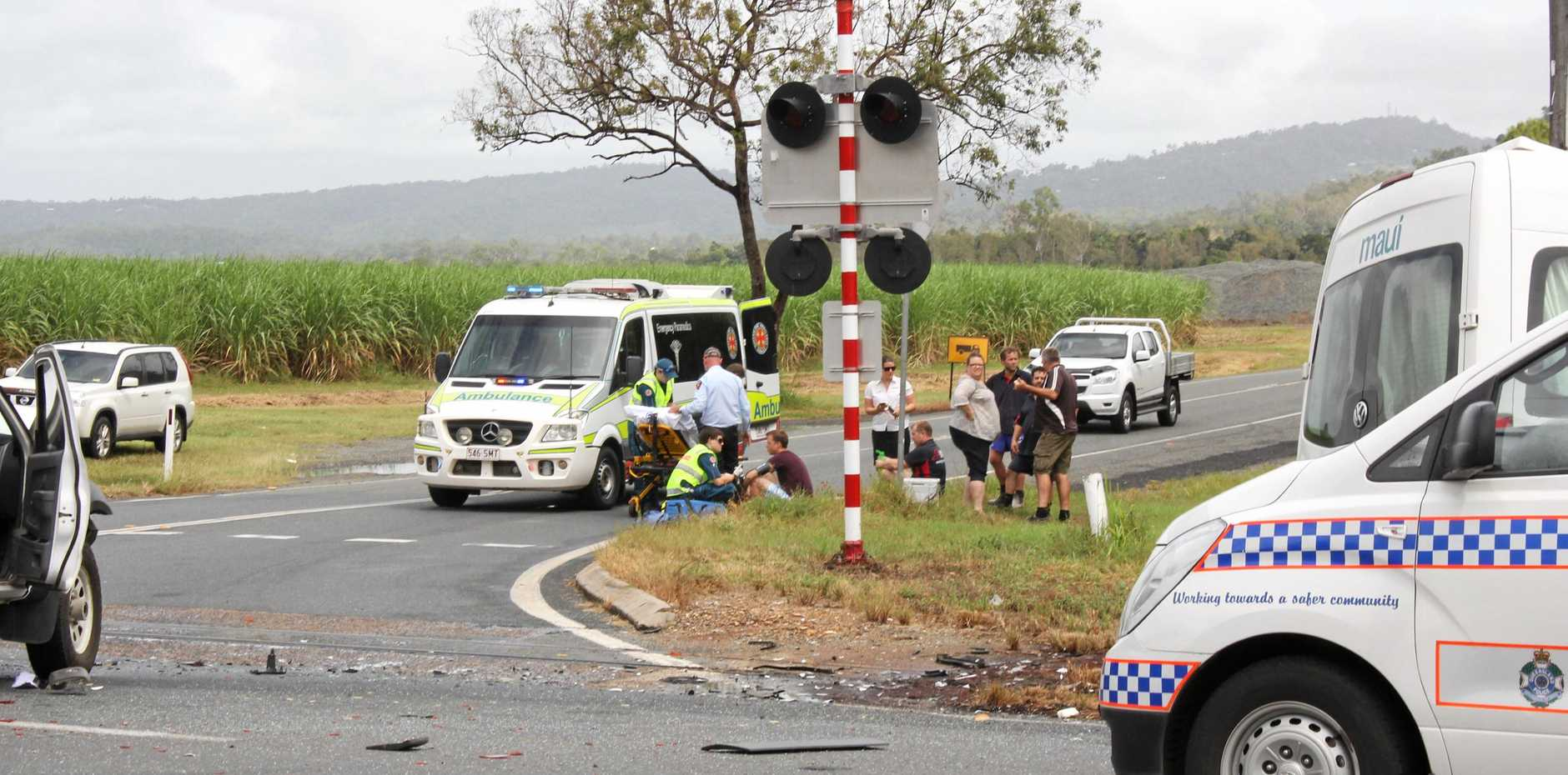 The most dangerous areas stretch from Mackay in the north down to the Sunshine Coast.