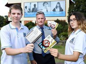 Postcards combat school bullying