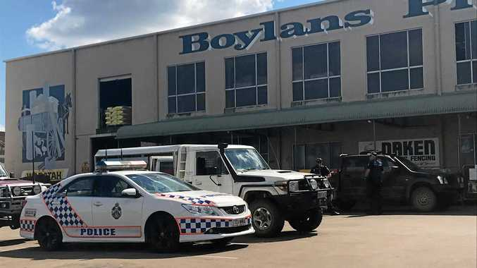 Alleged hit and run outside Bundaberg CBD business