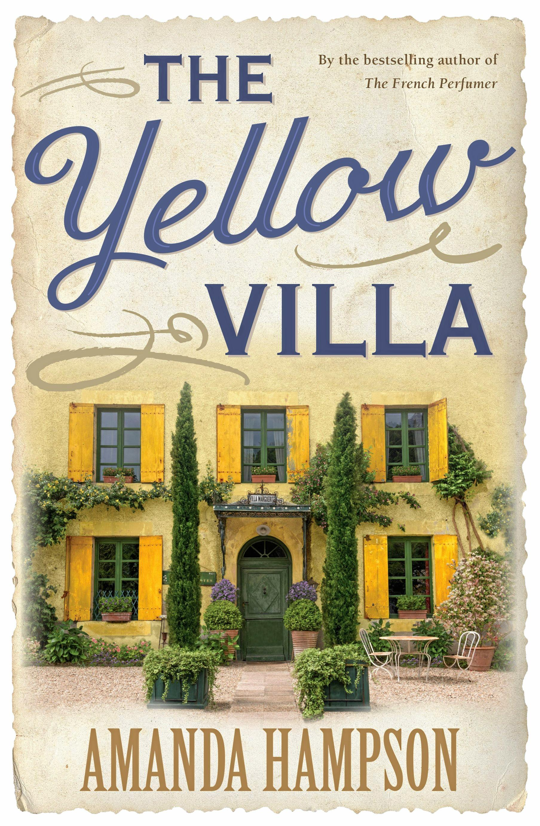 The Yellow Villa, in bookstores now.
