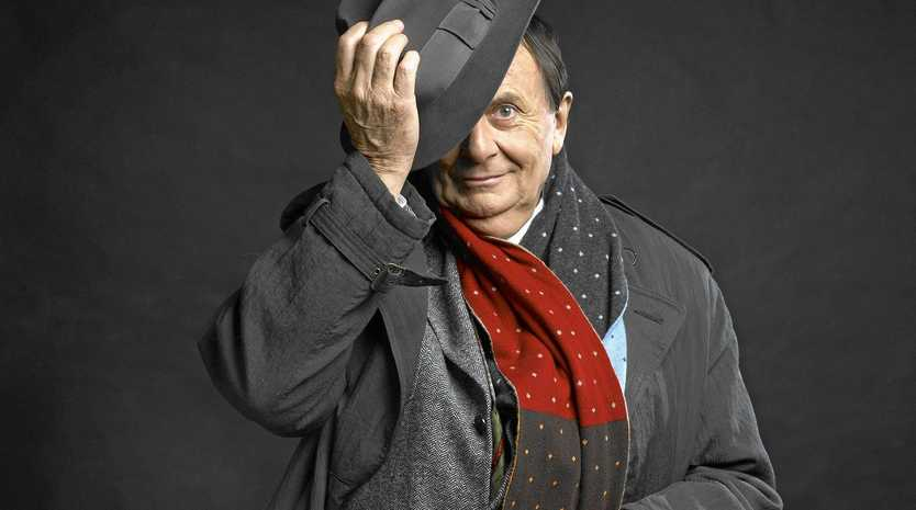 LAYING IT BARE: The Barry Humphries: The Man Behind the Mask show will hit the stage at the Newcastle Civic Theatre on May 5 and 6 and Darling Harbour Theatre in Sydney on May 17 and 18. Tickets: www.tegdainty.com
