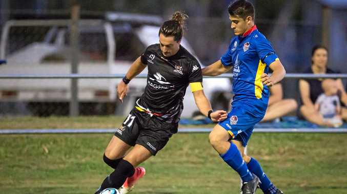 Magpies Crusaders United's Kyle Markham returns against Brisbane City FC