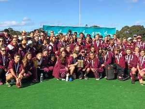 Coast players win medals at national under-15 hockey titles