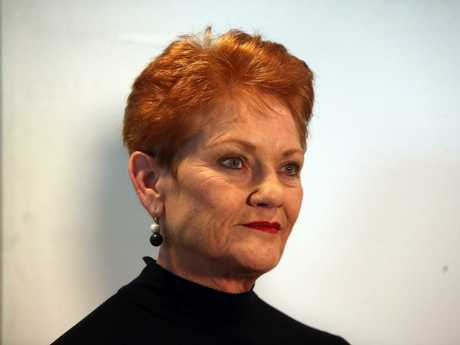 Pauline Hanson wants to extend the waiting period for people wanting to become a citizen to eight years.   Picture Kym Smith
