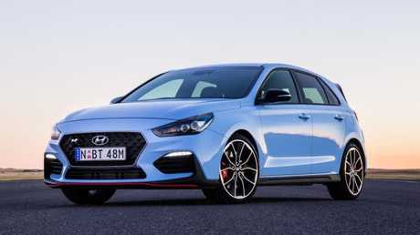 Hyundai i30 N: Performance division's first effort, aimed at a raft of established rivals