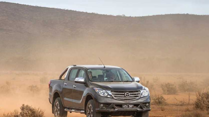 A tougher new look and sharp prices should help Mazda leverage the fact its BT-50 shares most of its hardware with the Ford Ranger. Picture: Supplied