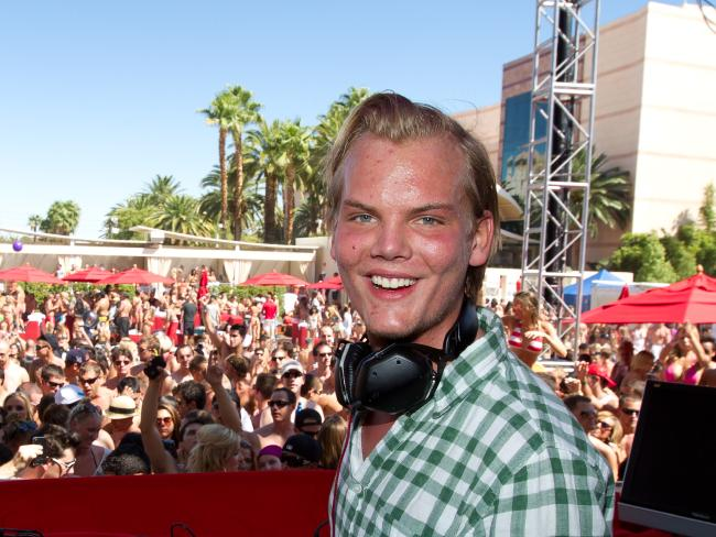 Avicii's family said he struggled to find happiness. Picture: KAB/RTN/MPI/Capital Pictures/MEGA