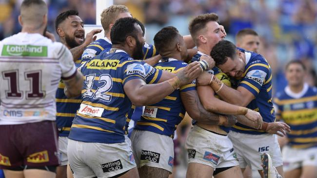 The Eels bounced back in style against the Sea Eagles.