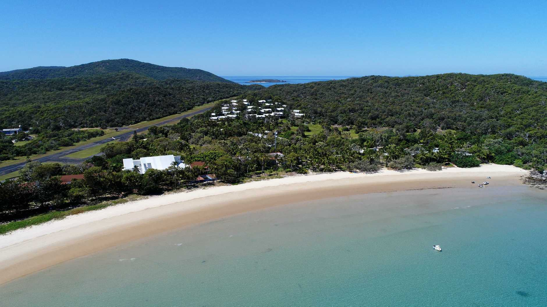 PICTURESQUE: GKI: 'The jewel of the Great Barrier Reef'.