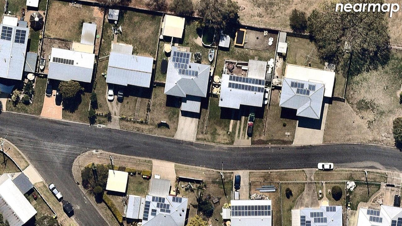 After: Raceview, Queensland. Picture: Nearmap.com.au