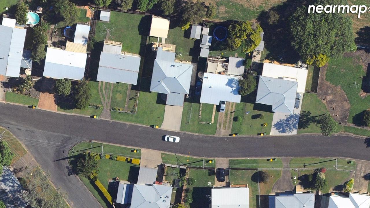 Before: Raceview, Queensland. Picture: Nearmap.com.au