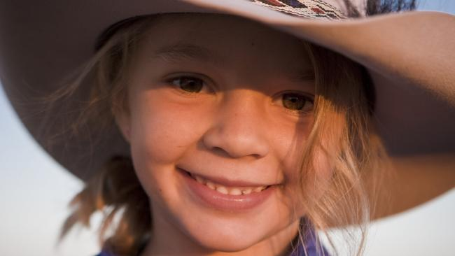 Dolly's parents said their daughter loved life on the ranch. Picture: AAP Image/Victoria Racing Club Limited