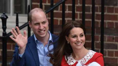 Why shouldn't the Duchess of Cambridge want to appear well groomed when facing the media with the Duke of Cambridge and their newborn son. (Pic: Dominic Lipinski)