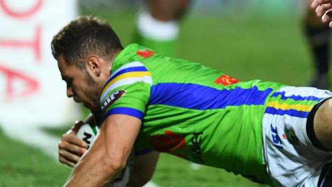 It was Canberra's first win in Townsville since 2006.